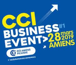 Salon CCI Business Event, le 28 mars 2019 à Mégacité – Amiens